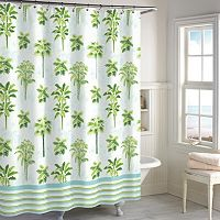 Destinations Tropical Palm Shower Curtain Collection