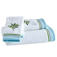 Destinations Tropical Palm Bath Towel Collection