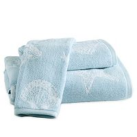 Destinations Coastal Shell Bath Towel Collection