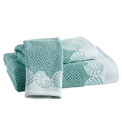 Destinations Cape May Border Bath Towel Collection