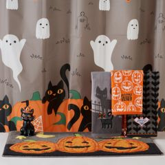 Kohls Bathroom Sign halloween shower curtains & accessories - bathroom, bed & bath