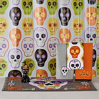 Celebrate Together Sugar Skulls Shower Curtain Collection