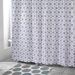 Avanti Dotted Shower Curtain Collection