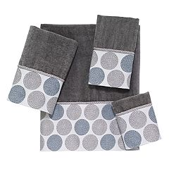 Avanti Dotted Bath Towel Collection
