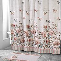 Avanti Butterfly Shower Curtain Collection
