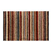 Surya Concepts Striped Shag Rugs