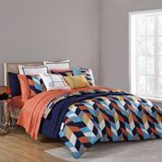 VCNY Geometric Clairebella Comforter Collection