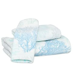 Destinations Sea Reef Print Bath Towel Collection