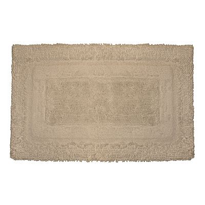 Park B. Smith Deluxe Border Bath Rugs