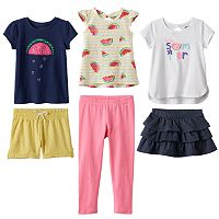 Toddler Girl Jumping Beans® Summer Mix & Match Outfits