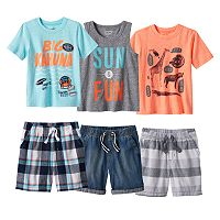 Toddler Boy Jumping Beans® Sun & Fun Mix & Match Outfits