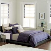 Simply Vera Vera Wang Linear Plaid Bedding Coordinates