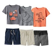 Baby Boy Jumping Beans® Animals Mix & Match Collection