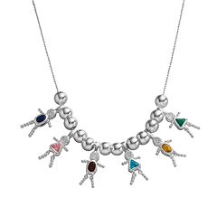 Sterling Silver Birthstone Babies Charms& Accessories