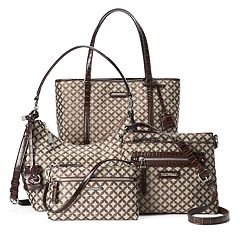 Dana Buchman Jacquard Handbag Collection