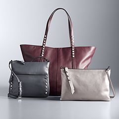 Simply Vera Vera Wang Leather Handbag Collection