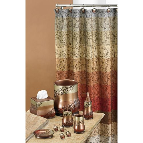 Shower Curtains bathroom ensembles shower curtains : Bathroom Accessories Collection