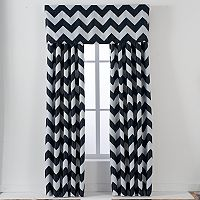 Lush Decor Chevron Window Treatment Collection
