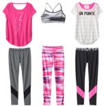 Girls 7-16 SO® Performance Active Mix & Match Outfits