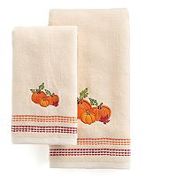 Celebrate Together Pumpkin Trio Hand Towel Collection