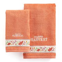 Celebrate Together Happy Harvest Hand Towel Collection