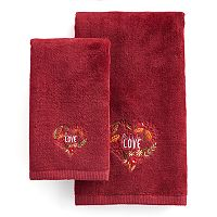 Celebrate Together Fall In Love Hand Towel Collection