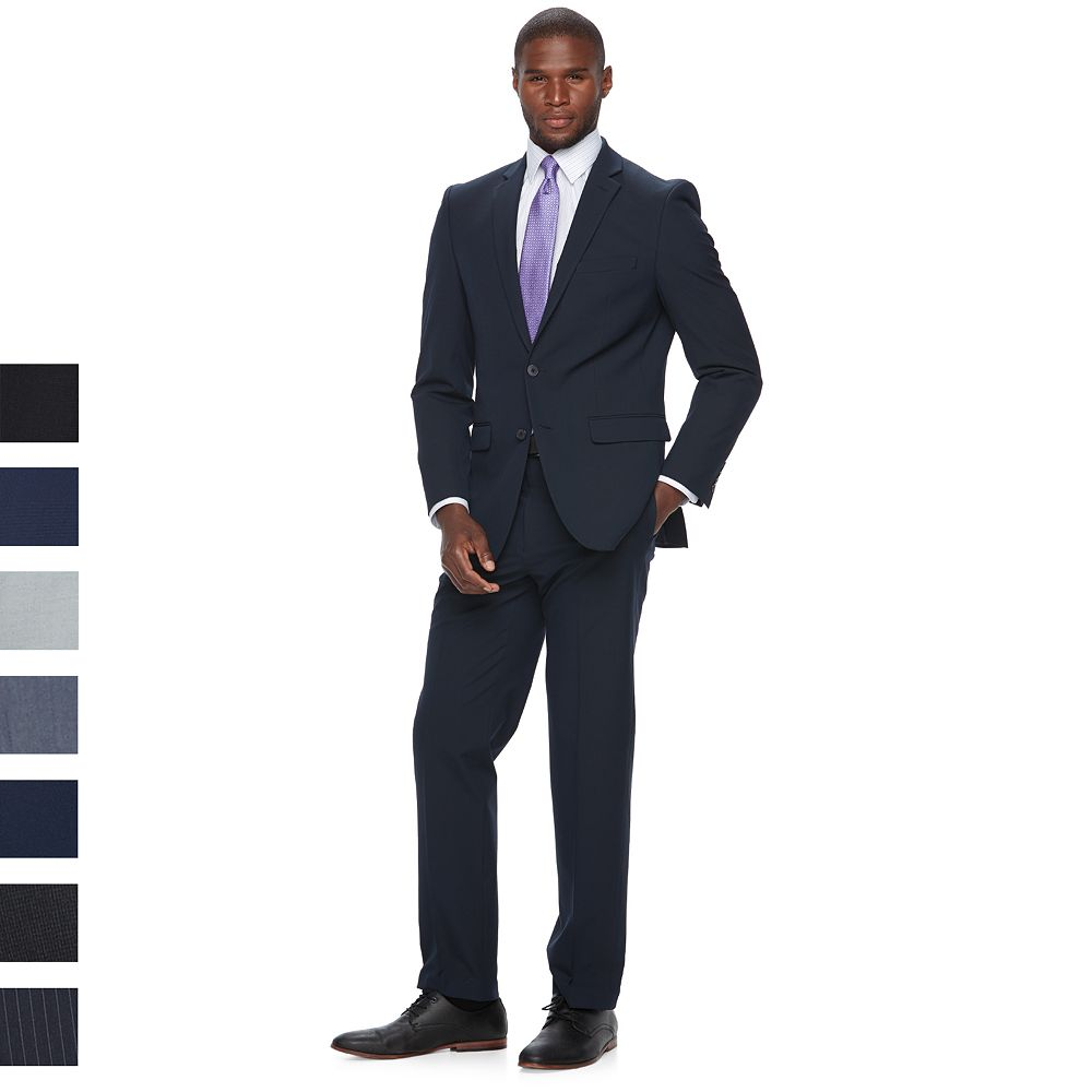 Mens Van Heusen Flex Slim Fit Stretch Suit Separates