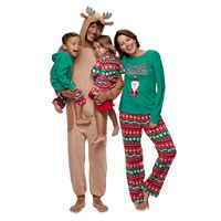 Jammies For Your Families Santa Fairisle Pajamas
