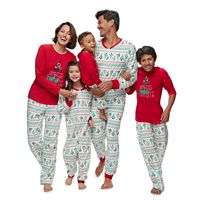 Jammies For Your Families Christmas Tree Fairisle Pajamas