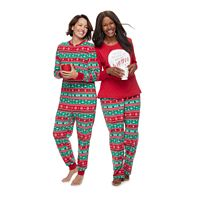Jammies For Your Families Cheers Fairisle Pajamas