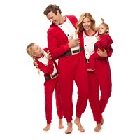 Jammies For Your Families Santa Suit Pajamas