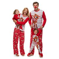 Jammies For Your Families Rudolph The Red Nosed Reindeer Pajamas
