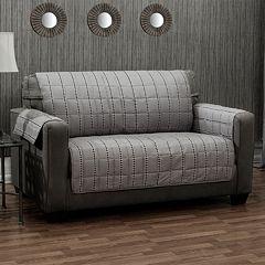 Ron Chereskin Diamond Stripe Furniture Slipcover Collection