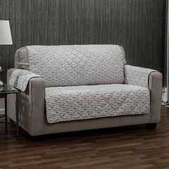 Ron Chereskin Geometric Basketweave Furniture Slipcover Collection