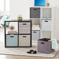 Linon Folding Storage Bin & Storage Unit Collection