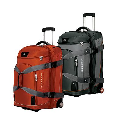 High Sierra Drop-Bottom Wheeled Backpack