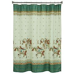 Bacova Boho Shower Curtain Collection