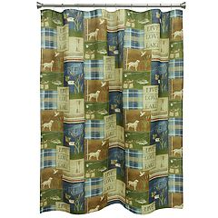 Bacova Live Love Lake Shower Curtain Collection