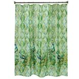 Bacova Peacock Shower Curtain Collection