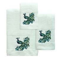 Bacova Peacock Bath Towel Collection