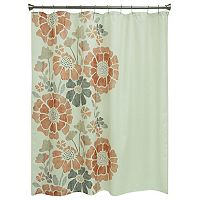 Bacova Peyton Floral Shower Curtain Collection