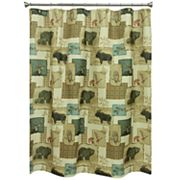 Bacova Tetons Shower Curtain Collection