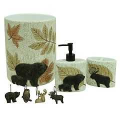 Bacova Tetons Bath Accessories Collection
