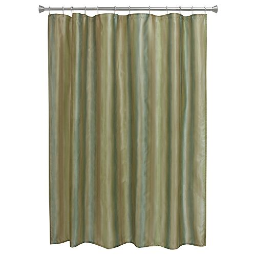 Bacova Waterfall Stripe Shower Curtain Collection