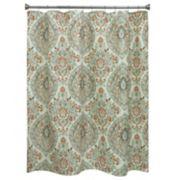 Bacova Peyton Damask Shower Curtain Collection