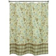 Bacova Tetons Leaf Shower Curtain Collection