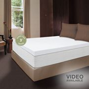 Dream Therapy 3-in. Thick Memory Foam Mattress Topper