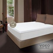 Dream Therapy 1 1/2-in. Thick Memory Foam Mattress Topper