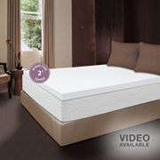 Dream Therapy 2-in. Thick Memory Foam Mattress Topper