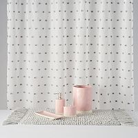 LC Lauren Conrad Pom Pom Shower Curtain Collection